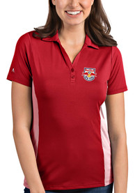New York Red Bulls Womens Antigua Venture Polo Shirt - Red