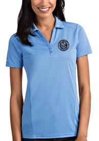 New York City FC Womens Antigua Tribute Polo Shirt - Blue