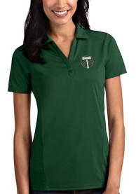 Portland Timbers Womens Antigua Tribute Polo Shirt - Green