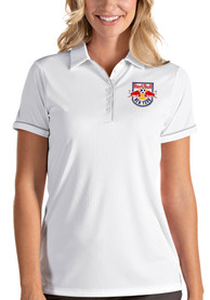 New York Red Bulls Womens Antigua Salute Polo Shirt - White