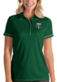 Portland Timbers Womens Antigua Salute Polo Shirt - Green