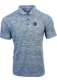 Dallas Mavericks Antigua Possession Polo Shirt - Navy Blue