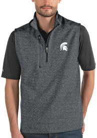 Michigan State Spartans Antigua Challenger Vest - Charcoal