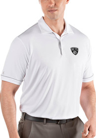Brooklyn Nets Antigua Salute Polo Shirt - White