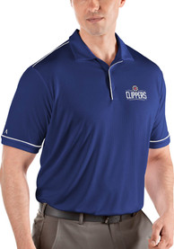 Los Angeles Clippers Antigua Salute Polo Shirt - Blue