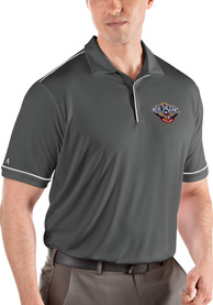 New Orleans Pelicans Antigua Salute Polo Shirt - Grey