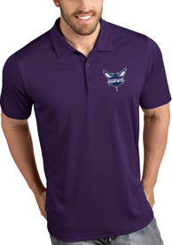 Charlotte Hornets Antigua Tribute Polo Shirt - Purple