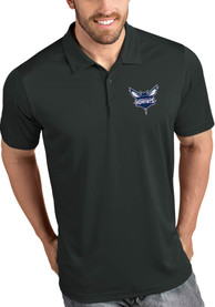 Charlotte Hornets Antigua Tribute Polo Shirt - Grey