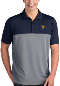 Indiana Pacers Antigua Venture Polo Shirt - Navy Blue
