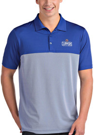 Los Angeles Clippers Antigua Venture Polo Shirt - Blue