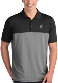 San Antonio Spurs Antigua Venture Polo Shirt - Black