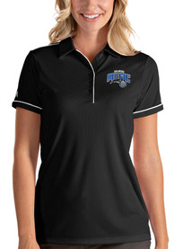Orlando Magic Womens Antigua Salute Polo Shirt - Black