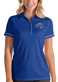 Orlando Magic Womens Antigua Salute Polo Shirt - Blue