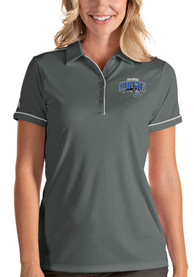 Orlando Magic Womens Antigua Salute Polo Shirt - Grey