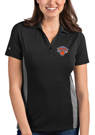Antigua New York Knicks Womens Grey Venture Polo