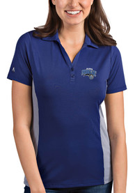 Orlando Magic Womens Antigua Venture Polo Shirt - Blue