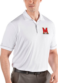 Maryland Terrapins Antigua Salute Polo Shirt - White
