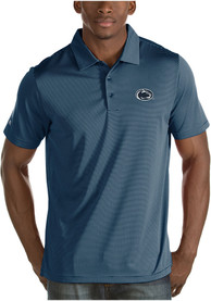 Antigua Penn State Nittany Lions Navy Blue Quest Short Sleeve Polo Shirt