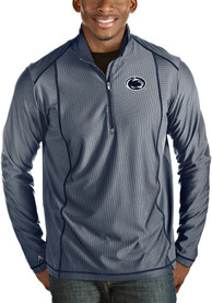 Antigua Penn State Nittany Lions Navy Blue Tempo 1/4 Zip Pullover