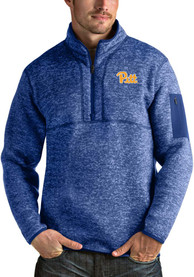 Antigua Pitt Panthers Blue Fortune 1/4 Zip Pullover
