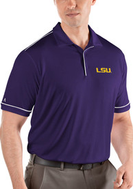 LSU Tigers Antigua Salute Polo Shirt - Purple