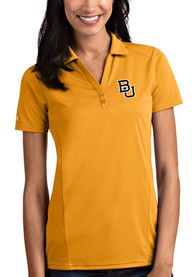 Baylor Bears Womens Antigua Tribute Polo Shirt - Gold