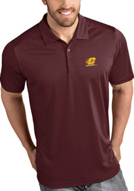 Central Michigan Chippewas Antigua Tribute Polo Shirt - Maroon