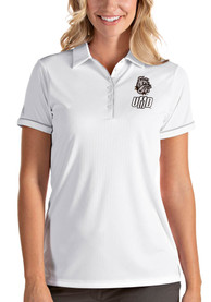 UMD Bulldogs Womens Antigua Salute Polo Shirt - White