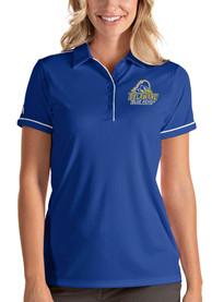 Delaware Fightin' Blue Hens Womens Antigua Salute Polo Shirt - Blue