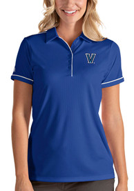 Villanova Wildcats Womens Antigua Salute Polo Shirt - Blue