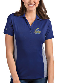 Delaware Fightin' Blue Hens Womens Antigua Venture Polo Shirt - Blue