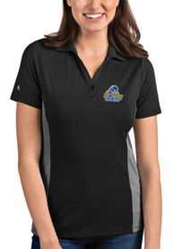 Delaware Fightin' Blue Hens Womens Antigua Venture Polo Shirt - Grey