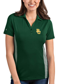 Baylor Bears Womens Antigua Venture Polo Shirt - Green