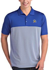San Jose State Spartans Antigua Venture Polo Shirt - Blue
