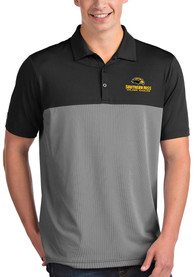 Southern Mississippi Golden Eagles Antigua Venture Polo Shirt - Black