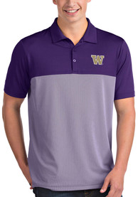 Washington Huskies Antigua Venture Polo Shirt - Purple