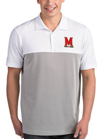 Maryland Terrapins Antigua Venture Polo Shirt - White