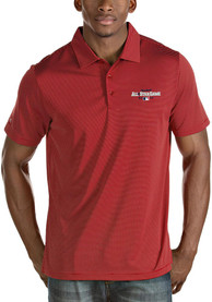 Antigua Cleveland All-Star Game Quest Short Sleeve Polo - Red