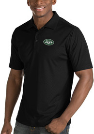 New York Jets Antigua Inspire Polo Shirt - Black