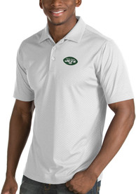 New York Jets Antigua Inspire Polo Shirt - White