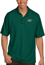 New York Jets Antigua Pique Polo Shirt - Green