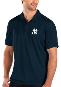 New York Yankees Antigua Balance Polo Shirt - Navy Blue