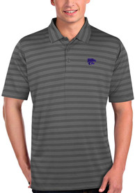 K-State Wildcats Antigua Charge Polo Shirt - Grey