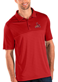 St Louis Cardinals Antigua Relay Polo Shirt - Red