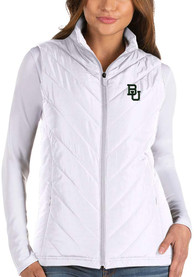 Antigua Baylor Bears Womens White Atlantic Vest