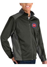 Detroit Pistons Antigua Revolve Light Weight Jacket - Charcoal