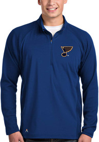 St Louis Blues Antigua Sonar 1/4 Zip Pullover - Blue