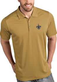 New Orleans Saints Antigua Tribute Polo Shirt - Gold