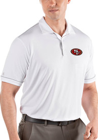 San Francisco 49ers Antigua Salute Polo Shirt - White