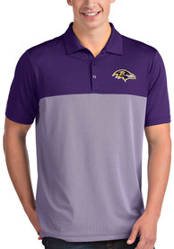 Baltimore Ravens Antigua Venture Polo Shirt - Purple